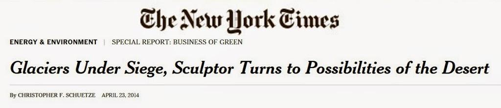 SunGlacier in the New York Times