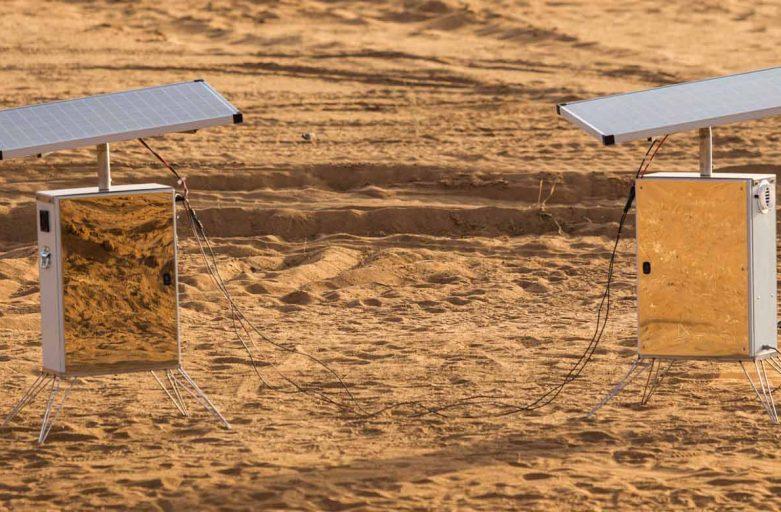 """Desert Twins"" in Sahara"
